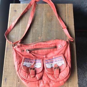 Cute peach purse